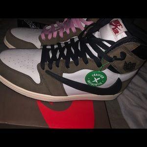 Nike Air Jordan 1 High OG TS SP, Size 11